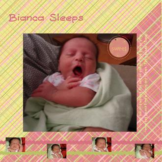 Jasbeanie Contest Entry - Bianca Sleeps