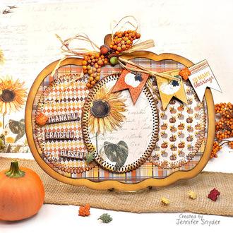 Autumn Pumpkin Wall /Door