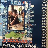 Eating Alligator