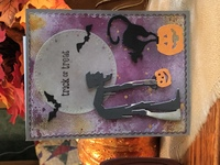 Halloween Card/ Sept Let's Try