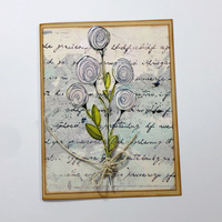 Tea Stained Tag Cards