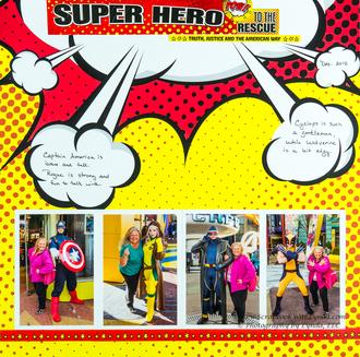 Super Heroes at Universal Islands of Adventure