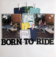 Born To Ride (Oct 2020 My Mood Challenge)
