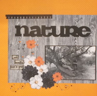 Nature is...