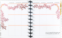 Fall Leaves Before the Pen Planner Spread