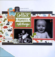 Collect Moments (Oct 2020 Double Page Challenge)