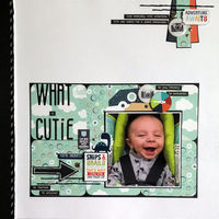 What a Cutie (Oct 2020 Pocket Page Challenge)
