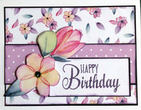 Happy Birthday (Oct 2020 Card Challenge)