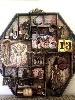 Spooky Shadow Box