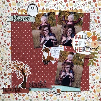 Fall is Here/ Becky Fleck #193