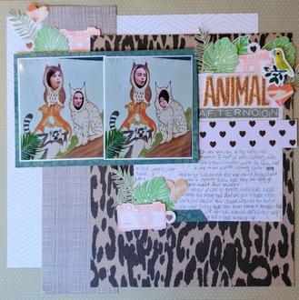 Animal Afternoon -  Becky Fleck Sketch Challenge #194