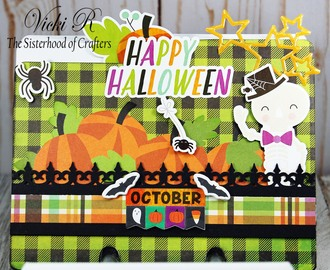 October Scrap-O-Dex Divider