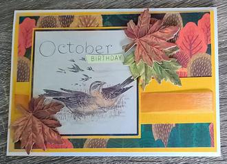 October Card Challenge
