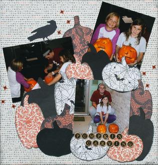 Ava Pumpkin carving
