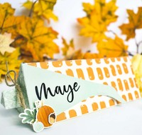 Thanksgiving Corn Treat Box Place Card