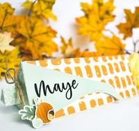Thanksgiving Corn Treat Box Place Card