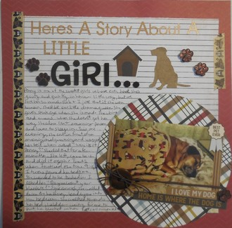 Here's a story about a little girl....