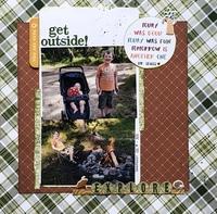 Get Outside/ Becky Fleck #197