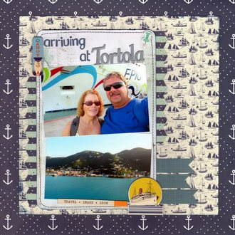 Arriving at Tortola