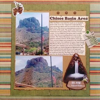 Chisos Basin Area