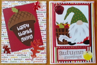 2020 Thanksgiving Cards 2 & 3
