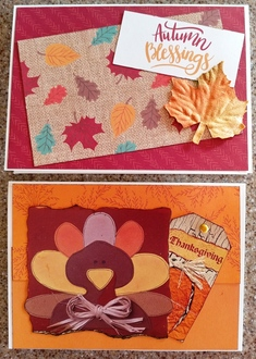 2020 Thanksgiving cards 11 & 12