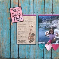 """Reel"" girls fish"