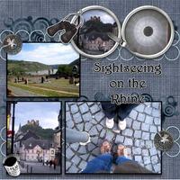 Sightseeing on the Rhine