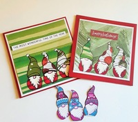 Gnome Christmas Cards