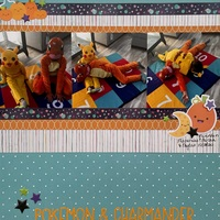 Pikachu & Charmander