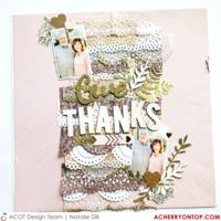 Give Thanks / DT blog hop
