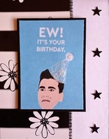 Schitt's Creek birthday card