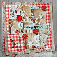 Winter Wishes/Happy Birthday