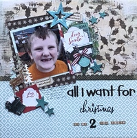 All I want for Christmas/ Dec Scrappin with the Oldies
