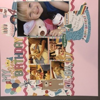 Golden Birthday (2 page layout)