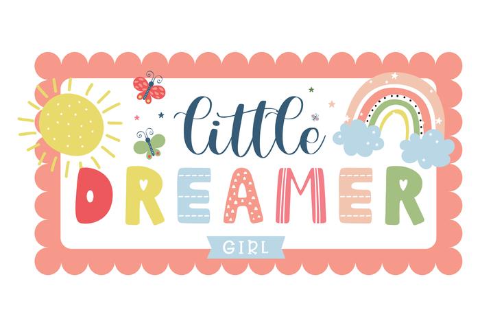 Echo Park Little Dreamer Girl