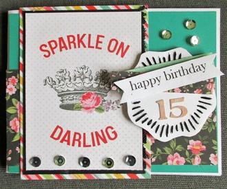 15th birthday card