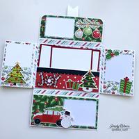 Santa Mini Album