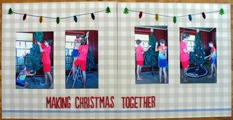 making christmas together