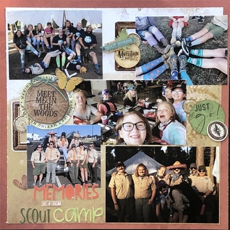 Memories from Scout Camp/ Jan Title