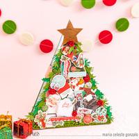 Christmas Tree Mini Album