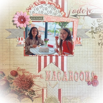 Love You Forever Macaroons