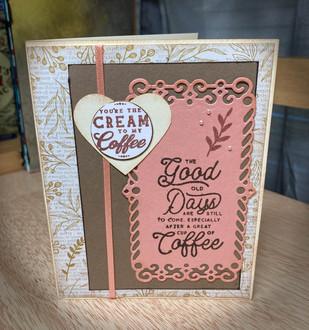 Cream to My Coffee