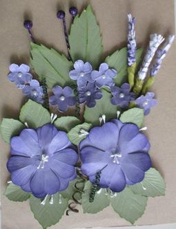 Homemade flower pack 1