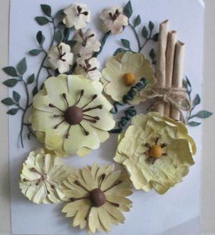 Homemade flower pack 2