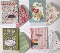 Four 3 by 4 Mini with Envelopes