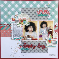 Happy Day Layout