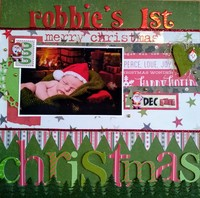 Robbie's 1st Christmas