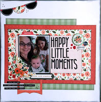 Happy Little Moments (Jan 2021 Make the Cut Challenge)