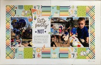 dec jan double page challenge